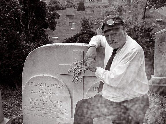 Bob, proviing an engaging awareness of the expolits of pioneering aviator Col. Paul Peck